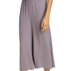 Eileen Fisher Luna Silk Cropped Pant Medium NWT